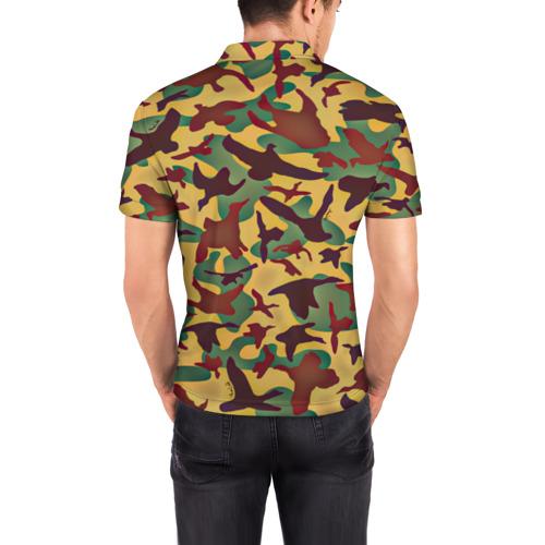 Мужская рубашка поло 3D  Фото 04, Полевая униформа