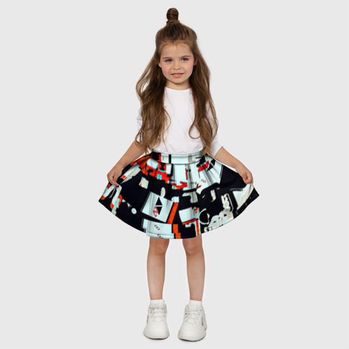 Детская юбка-солнце 3D  Фото 03, Assimov