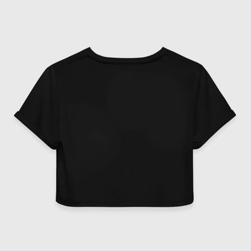 Женская футболка 3D укороченная  Фото 02, Lucifer 1