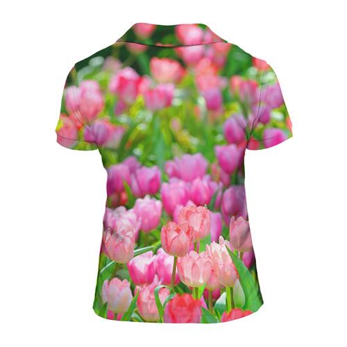 Женская рубашка поло 3D  Фото 02, С 8 марта!