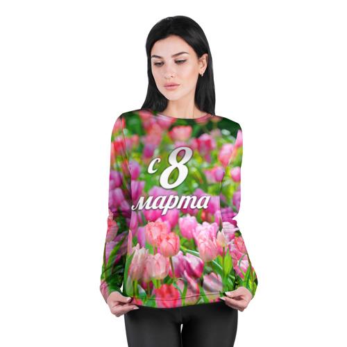 Женский лонгслив 3D для беременных  Фото 04, С 8 марта!