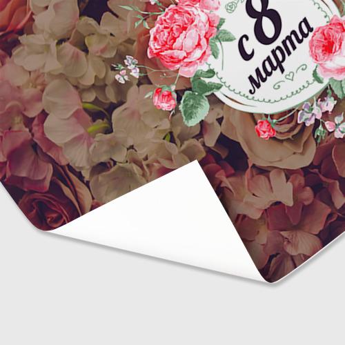 Бумага для упаковки 3D  Фото 03, C 8 Марта