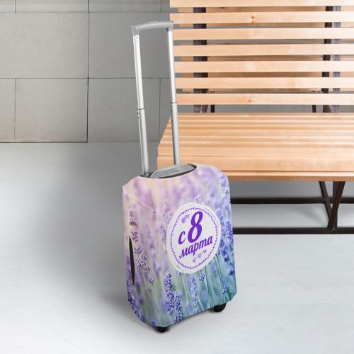 Чехол для чемодана 3D  Фото 03, С 8 Марта