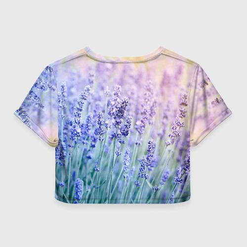 Женская футболка 3D укороченная  Фото 02, С 8 Марта