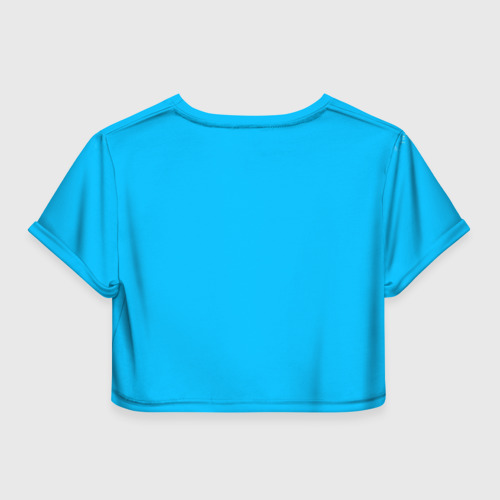 Женская футболка 3D укороченная  Фото 02, С 8 Марта!