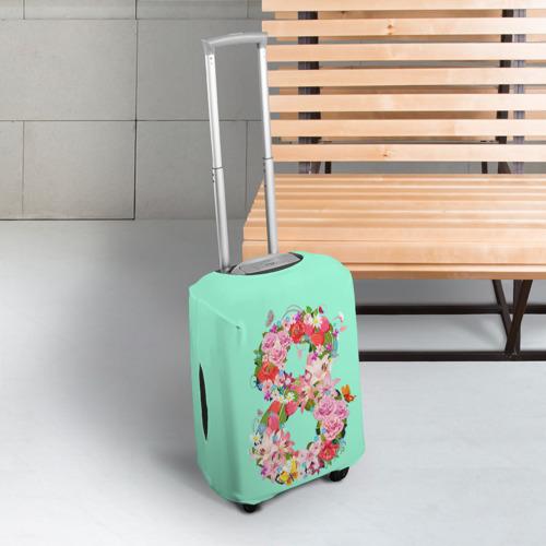 Чехол для чемодана 3D  Фото 03, 8 Марта