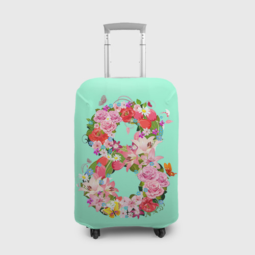 Чехол для чемодана 3D  Фото 01, 8 Марта