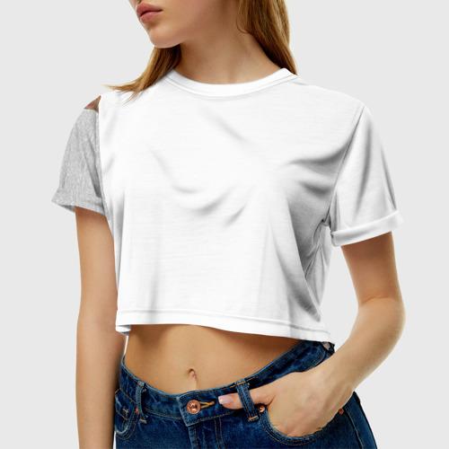 Женская футболка 3D укороченная  Фото 01, Самая милая