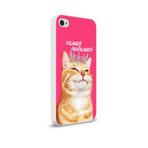 Чехол для Apple iPhone 4/4S soft-touch  Фото 02, Самая любимая