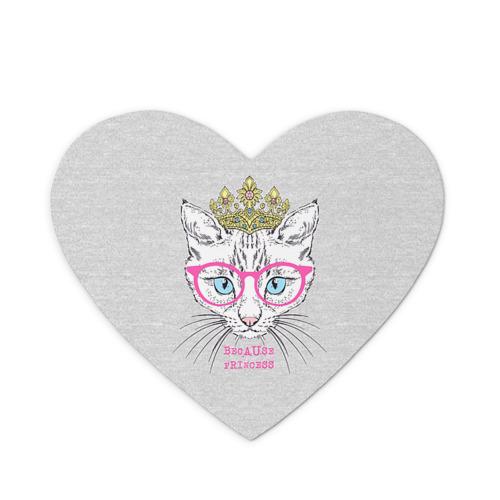 Коврик для мыши сердце  Фото 01, Потому что принцесса