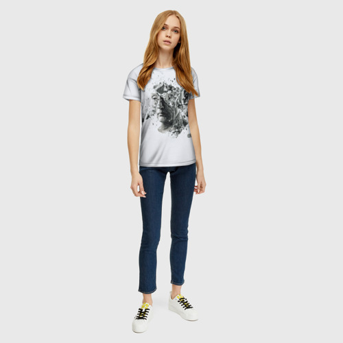 Женская футболка 3D Пила Фото 01