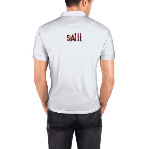 Мужская рубашка поло 3D  Фото 04, Пила