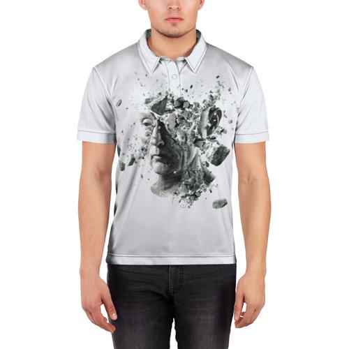 Мужская рубашка поло 3D  Фото 03, Пила