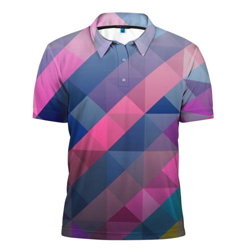 Мужская рубашка поло 3D  Фото 01, Trians 3