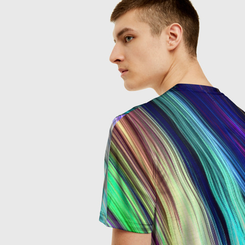 Мужская футболка 3D Волокна Фото 01
