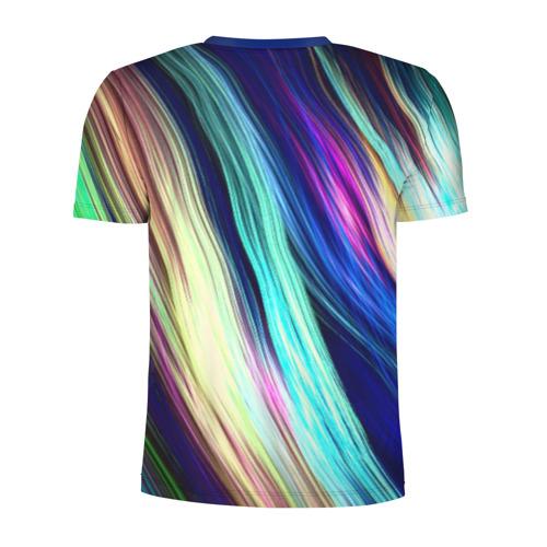 Мужская футболка 3D спортивная Волокна Фото 01