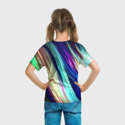 Детская футболка 3D Волокна Фото 01