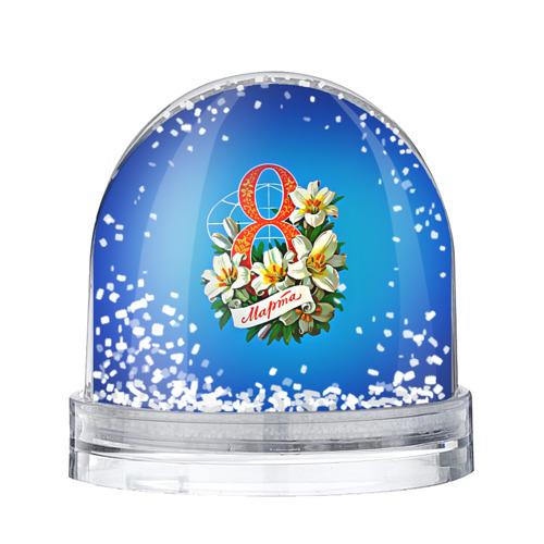 Водяной шар со снегом  Фото 01, 8 марта учителю