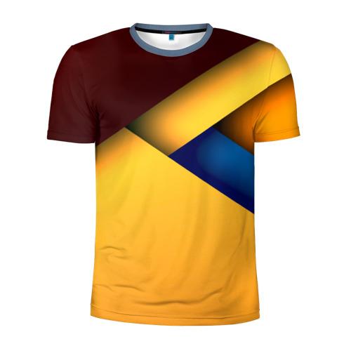 Мужская футболка 3D спортивная Stiil geometria