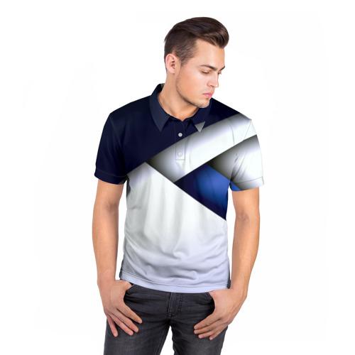 Мужская рубашка поло 3D  Фото 05, Geometria