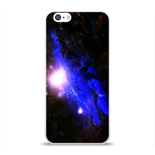 Чехол для Apple iPhone 6 силиконовый глянцевый  Фото 01, Космос