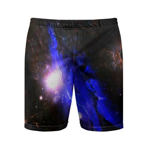 Мужские шорты 3D спортивные  Фото 01, Космос