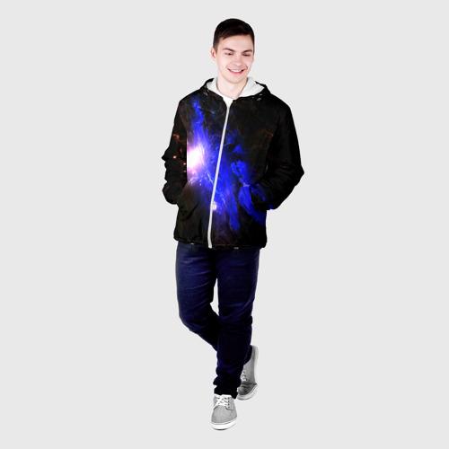 Мужская куртка 3D  Фото 03, Космос