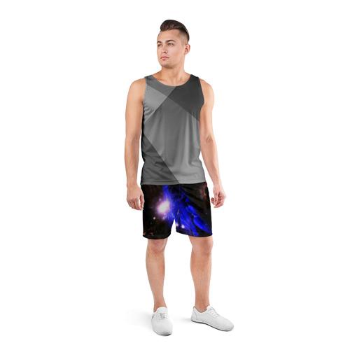 Мужские шорты 3D спортивные  Фото 04, Космос