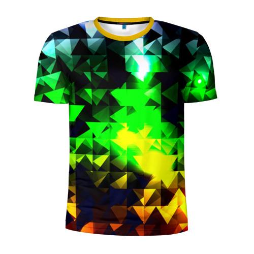 Мужская футболка 3D спортивная Сrystal