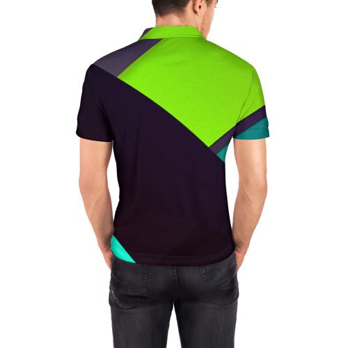 Мужская рубашка поло 3D  Фото 04, Метрика