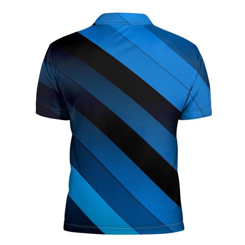Мужская рубашка поло 3D  Фото 02, Полосы
