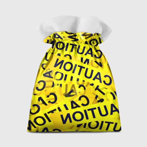 Подарочный 3D мешок  Фото 02, Caution
