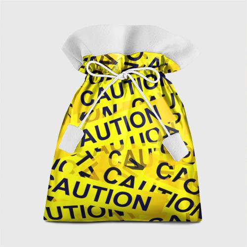 Подарочный 3D мешок Caution