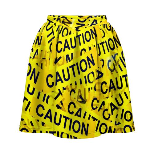 Юбка-солнце 3D Caution
