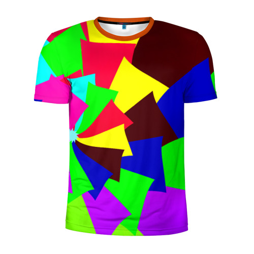 Мужская футболка 3D спортивная Moment