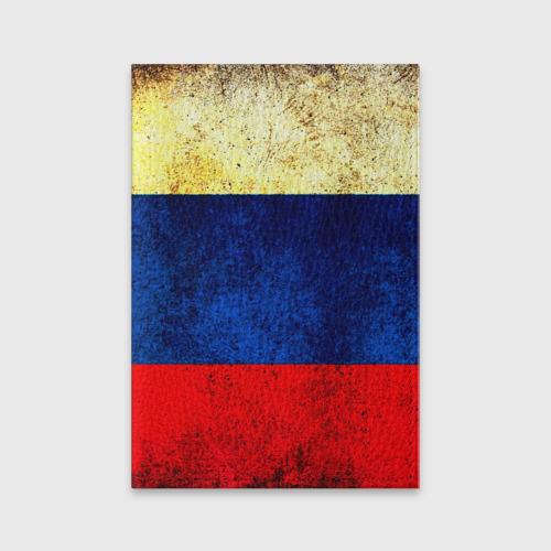 Обложка для паспорта матовая кожа  Фото 01, Триколор