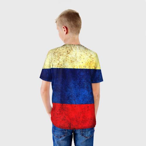 Детская футболка 3D  Фото 02, Триколор