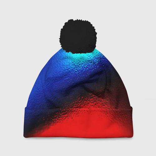Шапка 3D c помпоном Grunge