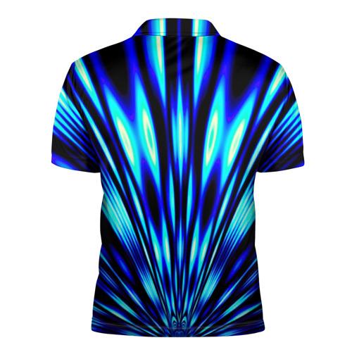 Мужская рубашка поло 3D  Фото 02, Лучи
