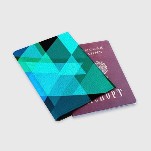 Обложка для паспорта матовая кожа  Фото 03, Gorgeous