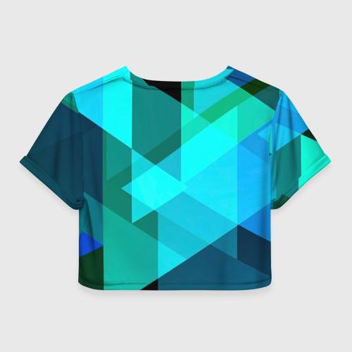 Женская футболка 3D укороченная  Фото 02, Gorgeous