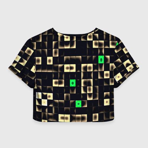 Женская футболка 3D укороченная  Фото 02, Minecraft