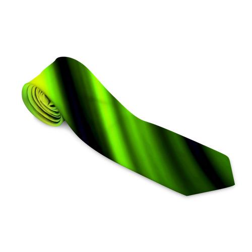 Галстук 3D Green fon