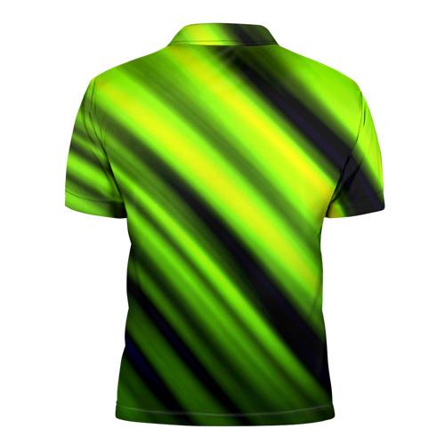 Мужская рубашка поло 3D  Фото 02, Green fon
