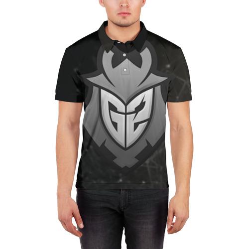 Мужская рубашка поло 3D  Фото 03, G2