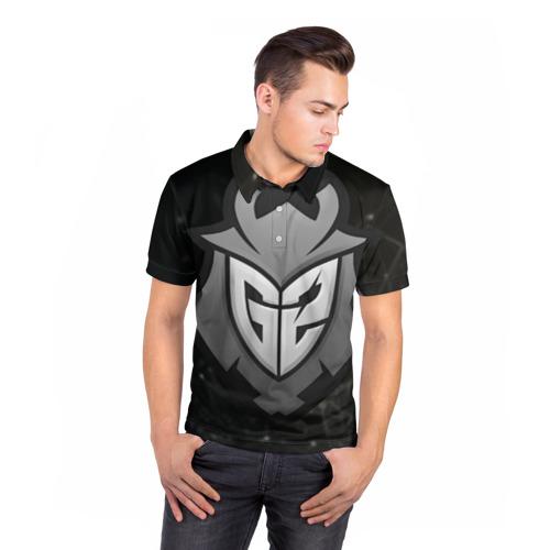 Мужская рубашка поло 3D  Фото 05, G2