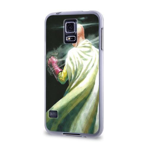 Чехол для Samsung Galaxy S5 силиконовый  Фото 03, One Punch Man