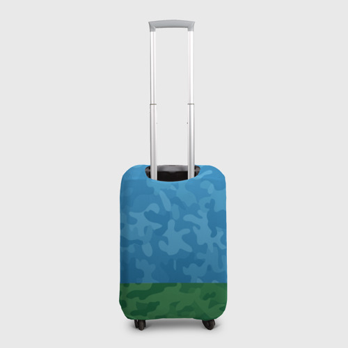 Чехол для чемодана 3D ВДВ никто кроме нас Фото 01