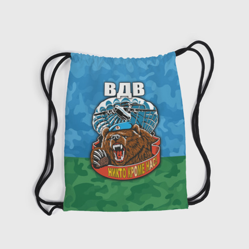 Рюкзак-мешок 3D  Фото 04, ВДВ медведь