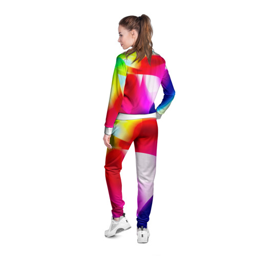 Женская олимпийка 3D  Фото 04, Радужный
